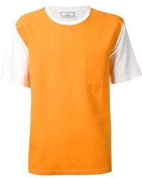 Ami Alexandre Mattiussi Contrast Sleeves T Shirt