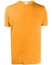 Sunspel Crew Neck Short Sleeve T Shirt