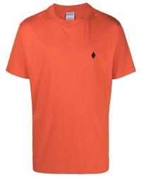 Marcelo Burlon County of Milan Cross Round Neck T Shirt