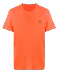 Ralph Lauren Logo Embroidered T Shirt