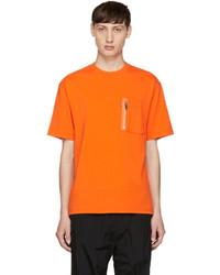 Christian Dada Orange Signature Flight T Shirt