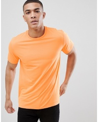ASOS DESIGN Relaxed Fit T Shirt In Neon Orange