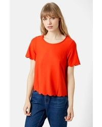 Scallop frill tee medium 186243