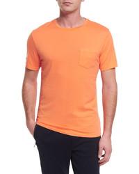 Ralph Lauren Short Sleeve Crewneck T Shirt Orange