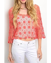 Delusive Crochet Top