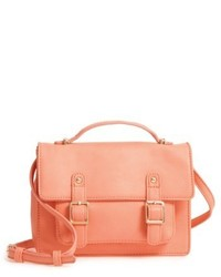 Buckle crossbody satchel orange medium 5169341