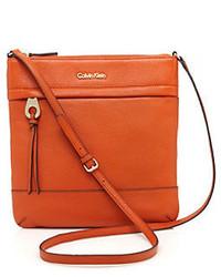 Calvin Klein Leather Crossbody