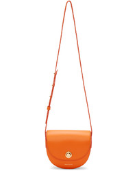 Mansur Gavriel Orange Mini Saddle Bag
