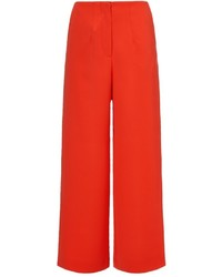 Orange high waisted culottes medium 331675