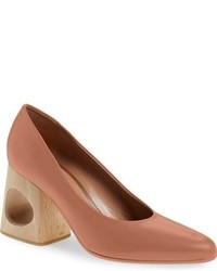 Marni Cutout Block Heel Pump
