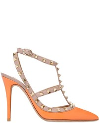 Valentino 100mm Rockstud Patent Leather Pumps