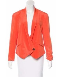 Rebecca Minkoff Double Breasted Silk Blazer