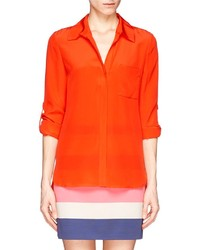 Nobrand Lorelei Two Silk Chiffon Blouse