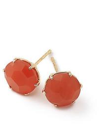 18k rock candy round stud earrings medium 4400761
