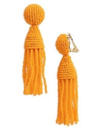 Classic short tassel drop clip earrings medium 4951162