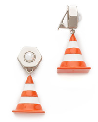 Moschino Cone Clip On Earrings