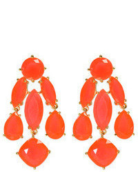 Kate Spade New York Accessories Coral Statet Earrings
