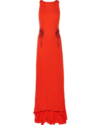 Mikl aghal embellished jersey gown medium 382523