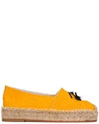 Orange espadrilles original 1611123