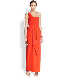 BCBGMAXAZRIA Kristine One Shoulder Dress