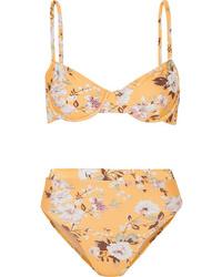 Faithfull The Brand Lolita Floral Print Underwired Bikini