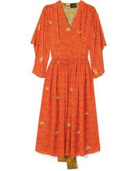 Loewe Paulas Ed Printed Dress