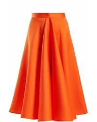 Maison Rabih Kayrouz High Waisted Satin Full Skirt