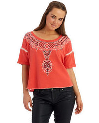 Aztec print sweatshirt medium 104618