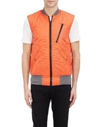 CHRISTOPHER RAEBURN Christopher Rburn Quilted Tech Vest Orange