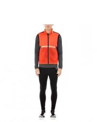 Paul Smith 531 Orange Windproof Paneled Cycling Gilet
