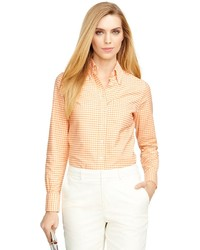 Brooks Brothers Supima Cotton Gingham Shirt