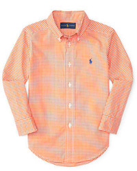 Ralph Lauren Childrenswear Boys 2 7 Poplin Woven Shirt