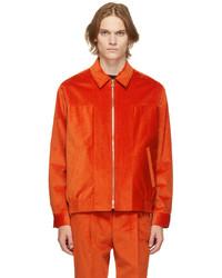 Paul Smith Orange Corduroy Jacket
