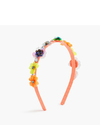 J.Crew Girls Stacked Flower Sequin Headband