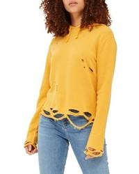 Distressed hoodie medium 4950740
