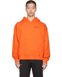 Off-White Orange Diag Ow Logo Skate Hoodie
