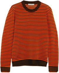 Ljuba ripple striped ribbed knit sweater medium 103577