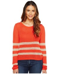 Stripe pullover clothing medium 5078131
