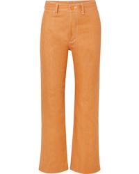 SIMON MILLE W012 High Rise Straight Leg Jeans