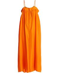 Aroussa silk satin jumpsuit medium 4421616
