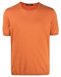 Tagliatore Knitted Cotton T Shirt