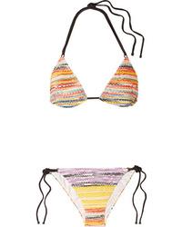 Missoni Mare Crochet Knit Bikini