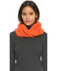 Orange Knit Scarf