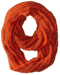 D&Y Dots Weaving Solid Knit Loop Infinity Scarf
