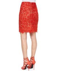 Elle Sasson Helen Floral Lace Pencil Skirt | Where to buy & how to ...