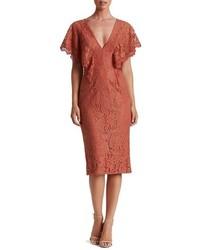 Dress the Population Lidia Lace Midi Dress