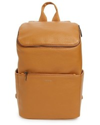 Brave faux leather backpack orange medium 1162066
