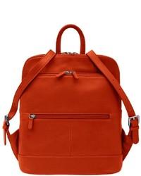 Ili Leather Backpack Handbag