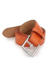 Polo Ralph Lauren Crocodile Harness Buckle Belt