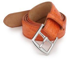 ... Polo Ralph Lauren Crocodile Harness Buckle Belt ...